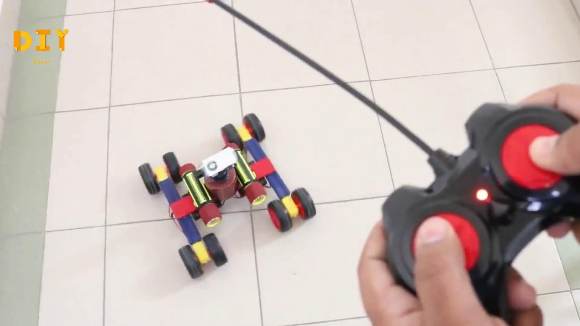發明製造DIY,手把手,教你如何自製一台炫酷的迷你遙控車-生活視頻-搜狐視頻