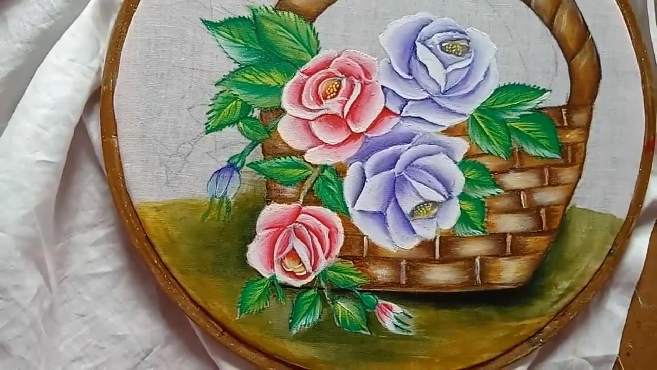 手工織物繪畫精美的玫瑰籃筐第二部分,方法很簡單,關鍵是漂亮-生活視頻-搜狐視頻