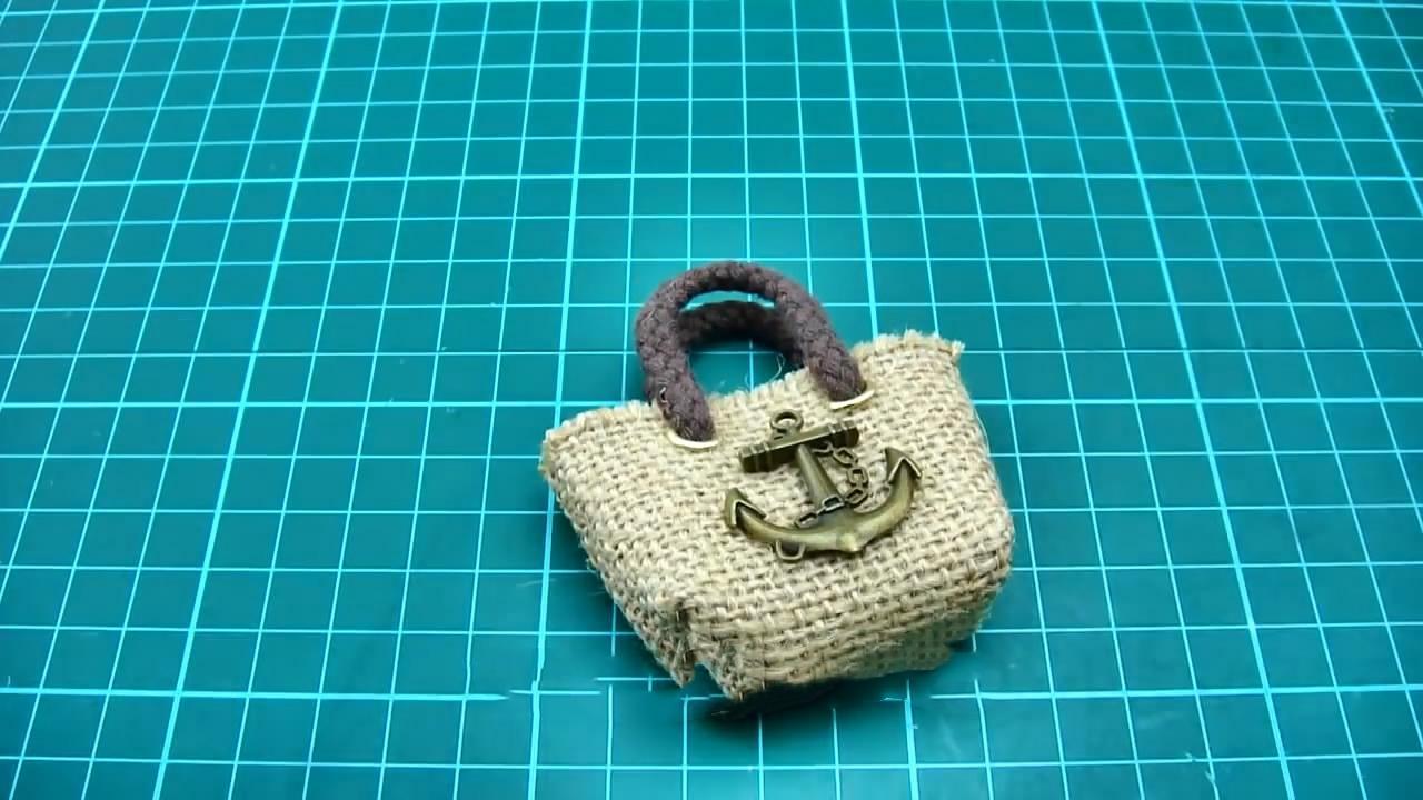 創意手工DIY,教你製作「袖珍迷你手提麻袋包」的方法-生活視頻-搜狐視頻