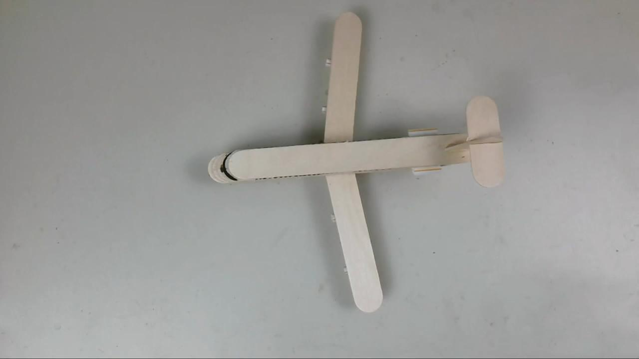 「玩具模型系列」用雪糕棍製作民航飛機玩具的方法,非常簡單!-母嬰親子視頻-搜狐視頻