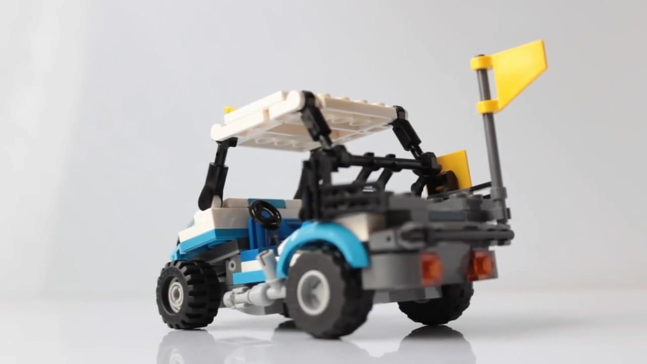 手把手,教你如何用樂高積木製作好玩的高爾夫卡丁車模型-生活視頻-搜狐視頻