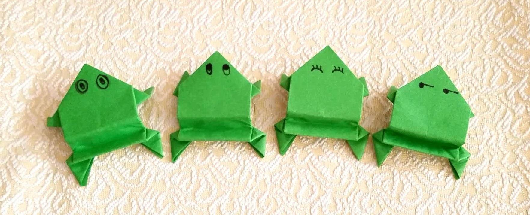 如何提高孩子動手能力?學會摺紙青蛙竟然這麼神奇