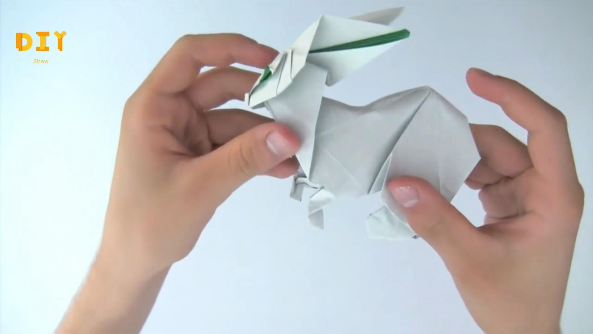 紙張應該這樣折,DIY達人教你如何摺紙3D小白兔(步驟3)-生活視頻-搜狐視頻
