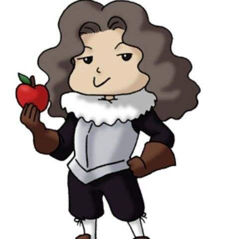 牛顿咬苹果