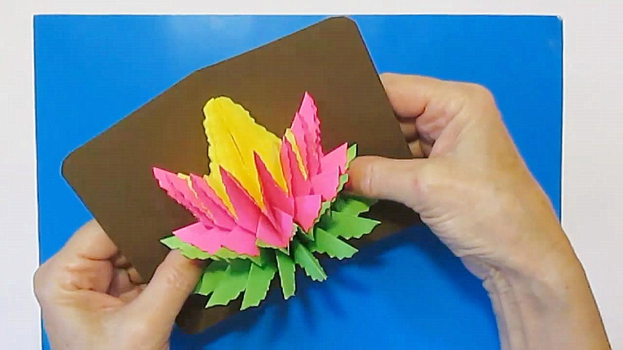 DIY立體賀卡的技巧,步驟詳細又簡單,一學就會