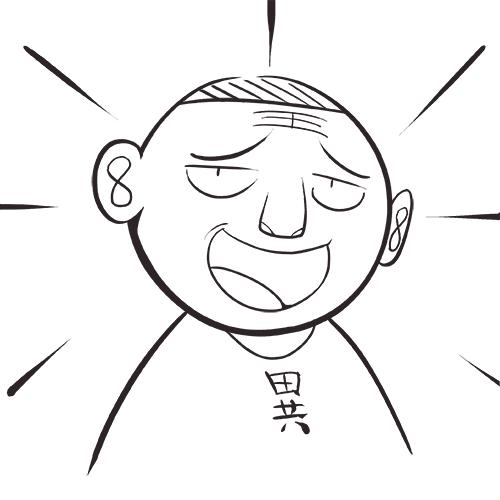 菊叔5岁画