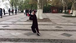 陈式二十四式养生太极扇  演练陈庆琳