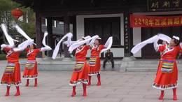 藏族舞《吉祥欢歌》.指导:叶子.表演: 叶子.小蝶.微微.芳.红雪.