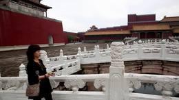 明清宫苑—字幕美丽的九寨姑娘