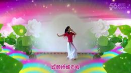 安源红子玉广场舞《好一朵女人花》