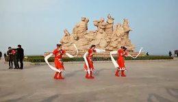 藏族舞《吉祥欢歌》表演:叶子.小蝶.微微笑.