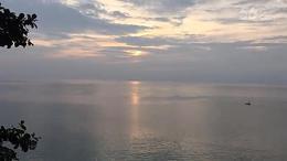 夕阳--延时摄影
