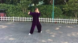 吴式八十三式太极拳演练陈庆琳