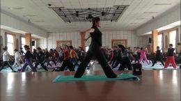 欧阳瑜伽初级班示范教学(3)