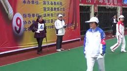 """2015·达州市第二十届""""园丁杯""""门球赛·宣汉2队—大竹县..."""