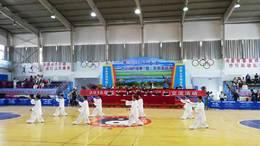 20190728在青海参加42式太极拳集体交流赛