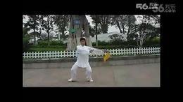 两江广场练太极
