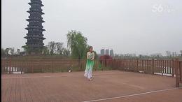 广德露晨广场舞《好一朵女人花》