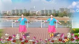 天使广场舞  个人版 一人变多人多变化视频