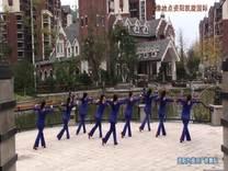广场舞 我是一条小河 资阳九曲河广场舞9人版