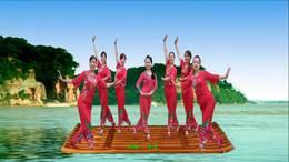 威远幸福广场舞《看山看水看四川》团队版 编舞:王梅209
