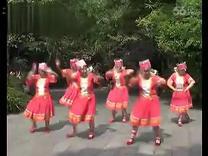 赶圩归来啊哩哩舞蹈 桂林老年大学文化周