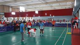 2015年第十四届全国老年人柔力球竞技赛决3、4名 男双 宁波  湖北...