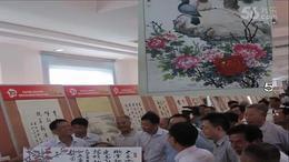 抗战胜利70周年书画展    东台市老干部局主办....