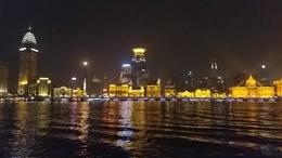 黄浦江外滩夜景20190311一