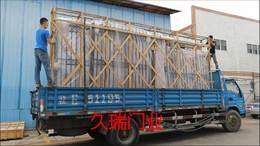浙江客户电动铝艺平移门发货中