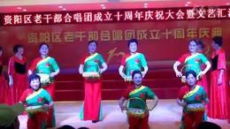 女声表演唱 军民团结一家亲
