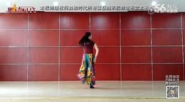 星月团队独家新舞 达坂城的姑娘 背面