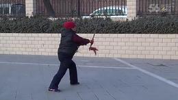 药俊芳老师演示杨式传统太极剑