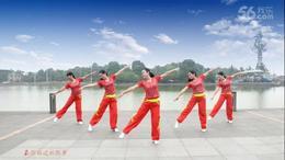 张春丽广场舞《把心给你》编舞 张春丽 杭州队演绎