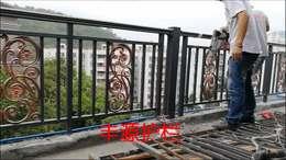 仙湖山庄雍翠阁铝艺阳台护栏