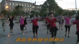 黄陂理林健身排舞队广场舞   大风歌