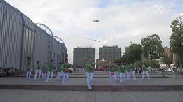 广德腰鼓队健身球《祖国你好》