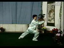 18  40式杨式太极拳竞赛套路教学全套动作背向示范_标清