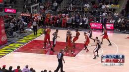 林书豪末节爆发16分率队取胜,NBA 2018.12.19 老鹰118比110奇才