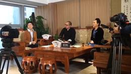 电视采访贵州企业家  共享优品CEO陆建文