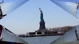 (343)第十七集:观赏纽约《自由女神像》上集: