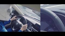 没有驾照没关系!第一人称带你感受高速放手开车!效果堪比VR体验