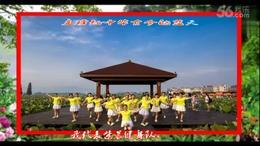 江西莲花紫晨健身队众姐妹荷花园造型