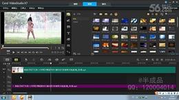 会声会影X7教程 7.消除、提取视频的背景音乐 给视频配音配乐...