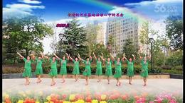 湖滨舞韵广场舞《多情的山丹》团体
