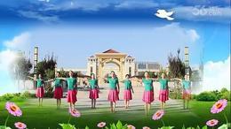 江南竹韵广场舞《美丽中国》编舞:杨艺