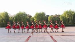 宜兴绿茶广场舞《康巴情》队形版
