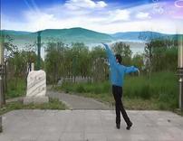 金辉原创广场舞 心向蓝天 正背面示范口令教学 1