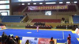 阿雅贝贝【剑术冠军】2017云南省武术套路冠军赛