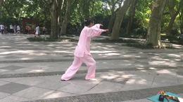 杨式传统四十二式太极拳   演练陈庆琳
